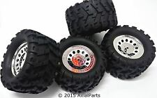 4 Redcat BS704-001 Ground Pounder Monster Truck Tires Wheels 12mm Hex Maxx 3.2""