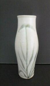 Vintage Mid Century Studio Pottery Stoneware Tall Vase by Kate Mellor