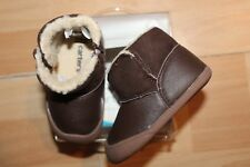 NWT BOYS CARTER'S SZ 3 BROWN SHOES BOOTS