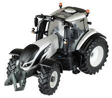 Britains 43215 Valtra T254V Tractor in Silver / White  1:32