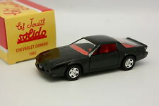 Solido Hachette 1/43 - Chevrolet Camaro 1983 Negra