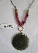 J.Jill Necklace  Labradorite  NWT  $59 Beaded Pendant Necklace