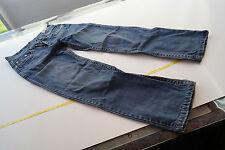 ESPRIT Herren Jeans Hose Rock Loose Fit stone wash used look blau W31 L34 TOP#31