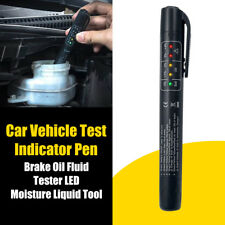 LED Elektronischer Brake Fluid Tester Bremsflüssigkeitstester Prüfer Testen KFZ