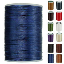 1 X 0.8mm/78M Waxed Thread Cotton Cord Sewing Line Handicraft For Leather Sale