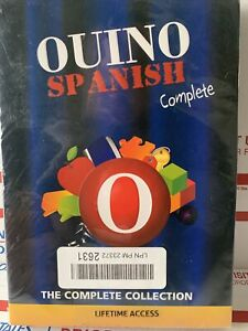 OUINO Spanish   The Complete Collection Edition NEW AND SEALED  RARE.