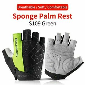 ROCKBROS Bicycle Riding Gloves  Cycling MTB Road Bike Gloves Half Finger Mitten