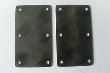 TRAILER PARTS SUSPENSION MOUNTING PLATES - 6 BOLT 250/350 KG UNITS (ONE PAIR)
