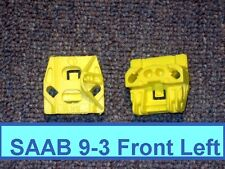 Saab 9-3 (2003-2011) Cable/Rail Type Window Regulator Repair Clips (2x) FRONT