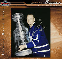 JOHNNY BOWER Signed Toronto Maple Leafs 8 X 10 -70445