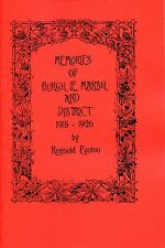 MEMORIES OF  BURGH LE MARSH & DISTRICT LINCOLNSHIRE 1915-1926 BY REGINALD PANTON