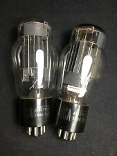 GREAT PAIR RCA 6AS7G (6080, 5998) POWER AMPLIFIER Vacuum Tubes TESTED! #1.6899