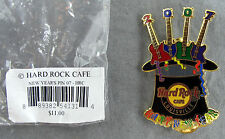 Hard Rock Cafe Pin 2007 - Happy New Years - Top Hat 4 Guitars - Louisville KY