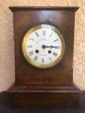 Horloge Ancienne Pendule Bois XIXe Napoléon III Antique French Wooden Clock 19th