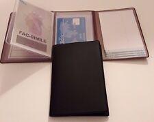 Porta Documenti Patente Carta d'identità carte di credito e Rubrica Telefonica