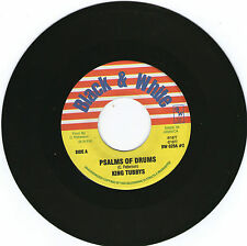 KING TUBBY / PSALMS OF DRUMS / BLACK & WHITE RE / JA / EX!!