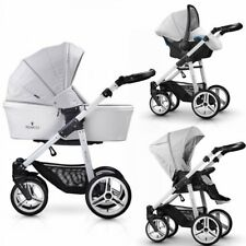 VENICCI 3 IN 1 TRAVEL SYSTEM PURE COLLECTION IN STONE GREY BNIB