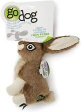 goDog Wildlife Toy with Chew Guard Rabbit Dog play time tough animal