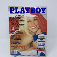 Playboy Magazine June 2002 Playmate of the Year, Shakira, Oscar De La Hoya