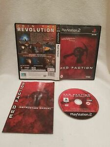 Sony Playstation 2 Game RED FACTION PAL Complete with manual Rating 15