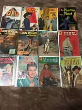 Lot of 5, 60 Year old DELL,Golden Key comic books, in very excellent condition