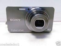 Sony Cyber-shot DSC-W570 16.1 MP Digital Camera - Silver + 8GB Memory Card Used