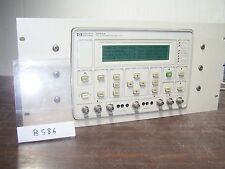 AGILENT HP 3784A DIGITAL TRANSMISSION ANALYZER - Opt: 061 - *B586