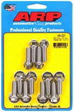 Arp 434-2001 Sbc Chevy Intake Stainless Bolt Set Bolts 350 383