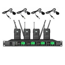 Professional Lavalier Microphone wireless System PLL uhf wireless Microphone Mic