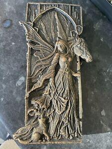 SALE Quality Rubber Latex Mould Fairy Horse Plaque Fairy Garden Animal