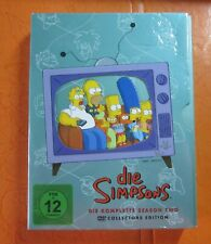 4 DVD's Die Simpsons Die Komplette Season Two + booklet, pal 2