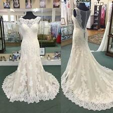 White/Ivory Sweetheart Wedding Dress Bridal Gown Custom Size 6-8-10-12-14-16