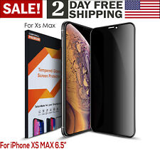 For iPhone Apple XS Max Privacy Anti Spy Tempered Glass Screen Protector 3D HD