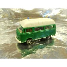 ** Brekina 33801 Police Van Green with White Roof  1:87 HO Scale