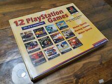 Ps1: All Star Action 12 Playstation Spiele (Big Box) Fabrik versiegelte [Ultra Rare]