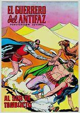 EL GUERRERO DEL ANTIFAZ (Reedición color) nº: 227.  Valenciana, 1972-1978.
