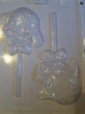 Sweet Lamb Chocolate Lollipop Mold