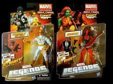 (3)Marvel Legends Hasbro Hit Monkey BAF customs..Iron Fist/She Hulk/BAF Complete