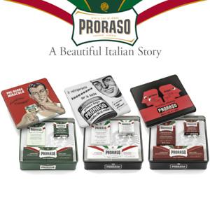 Proraso Vintage Selection Set gift for shaving, toccasana, primadopo, gino