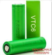 Batteria 18650 Vtc6 Sony Murata Pila ricaricabile 3.7V per Sigaretta Elettronica
