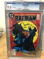 Batman #423 Rare 2nd Print - CGC 9.8 - McFarlane Cover