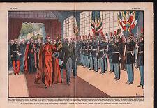 Paris Gare de Lyon Cardinal Pacelli Yvon Delbos Garde France 1937 ILLUSTRATION
