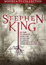 STEPHEN KING - 7 TV AND FILM COLLECTION (1986-1995): Horror Series - NEW  DVD R1