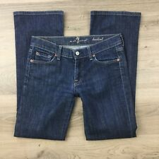 7 For All Mankind Women's Jeans Boot Cut Size 27 Actual W30 L29.5 (BF18)