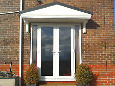 Pacific GRP Door Canopy 5 Year Guarantee 2500mm wide Includes Gallow Brackets L*