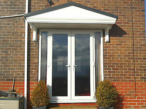 Pacific GRP Door Canopy 5 Year Guarantee 2500mm wide Includes Brackets L*