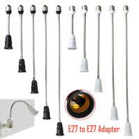 E27 Lamp Holder Flexible Extension Adapter Socket Converter For LED Lights Bulb