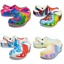Crocs Classic Tie Dye Graphic Clog Unisex Clogs | Slippers | garden shoes - NEW