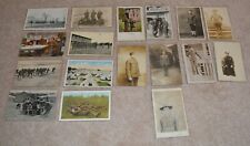 WWI Photo Lot of RPPC's + more relating to USA- 17 items