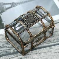 1PC Pirate Jewelry Storage Box Case Holder Vintage Mini Treasure Chest Gift